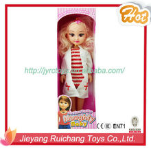 Educational toys new 2015 lovely barbie girl doll wholesale price