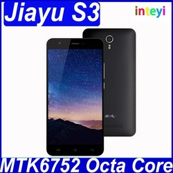 Original JIAYU S3 Mobile Phone 5.5inch MTK6752 Octa Core 2GB 3GB RAM 16GB ROM Dual 4G FDD LTE Good Camera Android 4.4 Smartphone