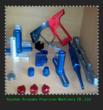 New hot selling aluminum anodized/A variety of color milling parts