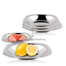 New design corner tray/suqare tray /wedding dishes serving tray