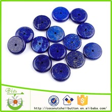 15x3mm sparkle blue color spheres shape lapis lazuli natural gemstone beads for jewelry making