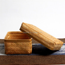 bamboo square tissue box cute creative fashion household paper towels pumping tubular container
