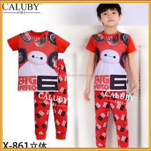 Kid Wear 3D Baby Pajamas, Children Cheap Cheap Clothing Big Hero 6 pajamas