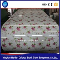 Fatory Price Roofing Metal Color Coated PPGI Steel Coil