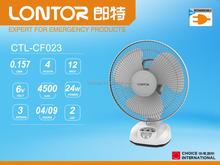 LONTOR hot sale 18inch rechargeable table fan cf024