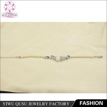 2015 Yiwu new products silver plated bracelet with horse shape crystal and rhinestone