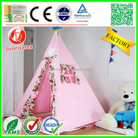 Kid play Breathable teepee tents for sale factory