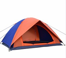 foldable 2-3 person shelter tent outdoor camping family tent hiking travelling fishing tent