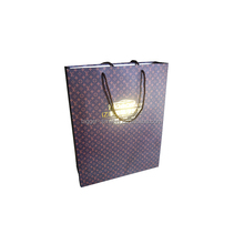 Recycled Merry Christmas Manger shopping bags feature bright text with a sweet manager