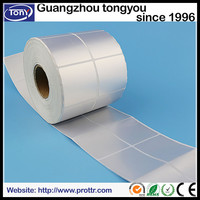 Matt PET paper sticker label for electronic product label paper