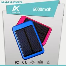 High fashion AAA battery 5000mah solar battery with LED charge indicator