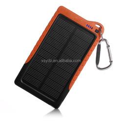New innovative lowest price solar panel power bank service 5000mah solar power bank