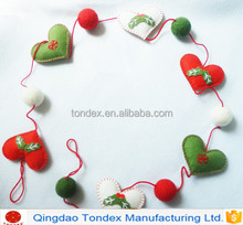 Best selling of Christmas decorations flower wreath garland