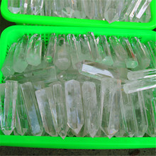 HOT SALE New Cheap Clear Natural Quartz Metaphysical Obelisk Pattern Healing Crystal Wands natural crystal point