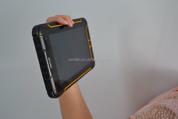 rugged industial terminal fingerprint sensor/RFID reader/barcode scanner 7 inch city call android phone