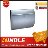Kindle Professional waterproof cast plastic wall mounted mailbox for sale with 31 years experience