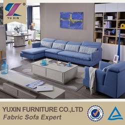 Bule Simple and Natural Design Sofa for Living Room