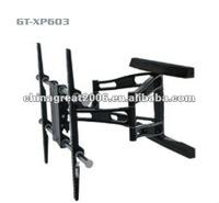 double arm tv wall mount LCD TV rack GT-XP603 led tv rack