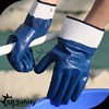 SRSAFET jersey liner nitrile fully dipped heavy duty winter gloves