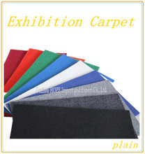 Nonwoven exhibition carpet flooring carpet sweeper