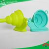 Kitchen Accessories Silicone Folding Funnel