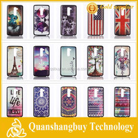 On sale cheapest Fashion Personality Eiffel Tower Cat US/UK Flag pattern hard back cover case for LG G2 D802 D801 mobile bag