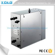 commerciale generatore di vapore elettrico a turbina con touch screen controller