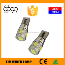 china factory wholesale led w5w 12v