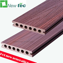 New generation co extrusion wood plastic composite decking, co extrusion composite decking
