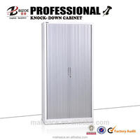 Durable small packing metal cheap steel roll front cabinets