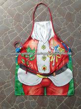 calidad delantal de cintura mayor de la alta Navidad