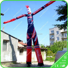 Funny inflatable advertise air dancer clown