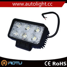 6.3Inch 18w IP67 Led spot Work Light Bar Offroad Driving Lamp Truck SUV 4WD led rechargeable work light car work light led 12v