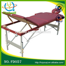 Various Colors Folding and Portable Luxury Massage Table