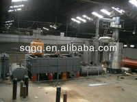 11th generation waste tire waste plastic recycling plant for fuel oil