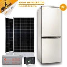 precio bajo portátil de alta calidad 176L 12v congelador corriente continua refrigerador