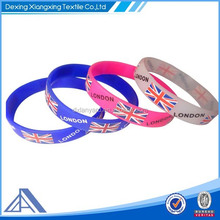 Event silicone rubber bracelets for promotion activity