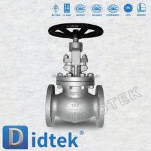 Didtek Trade Assurance Ship and building os & y globe valve