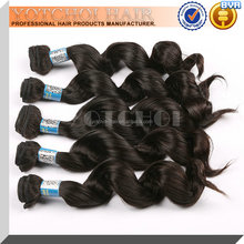 Best Selling Products Virgin Hair Extension Weft Indian Loose Wave Raw Human Hair