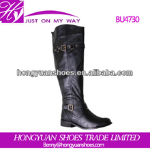 Elegant fashion new design boots for women hot selling women half noot
