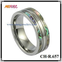 High Quality Comfort Fit Tungsten Name Brand Engagement Rings