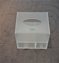 2-tiers Acrylic Frosted Box for Stocking