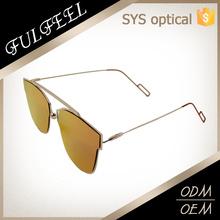 Fashion simple slim rim sunglasses ,flexible temple sunglasses