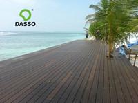 Dassostr high quality than wood decking Ipe/Merbau/teak/pine decking, eco friendly outdoor bamboo decking flooring tiles