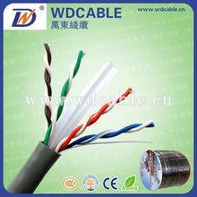 Fluke test passed cat6 utp 23awg CCAM communication cable