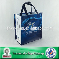 Recycled Bottle Fabric Shopping Bags Reusable