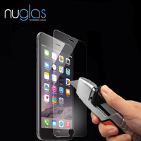 Premium Real Glass High Transparent Tempered Glass Screen Protector for iPhone 6S 0.3mm 9H Hardness