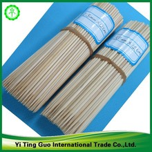 2015 Hight quality Natural And Red Color Bamboo Knotted Skewers/BBQ Skewers