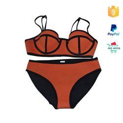 Bulk Stocks Cheap Triangle Bikini Neopren