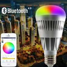 hot products 2016 new Android IOS RGBW trending hot products smart lighting led bulb light 12w with e27 bulk buy from china